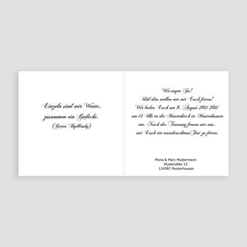 Hochzeitseinladungen mit Foto Marion pas cher