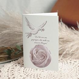 Trauer Danksagung weltlich Erinnerungen - Taube