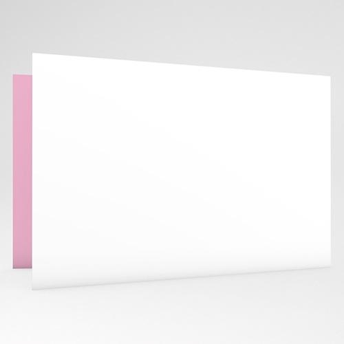 Geburtskarten für Mädchen - Karomuster rosa 16731 test