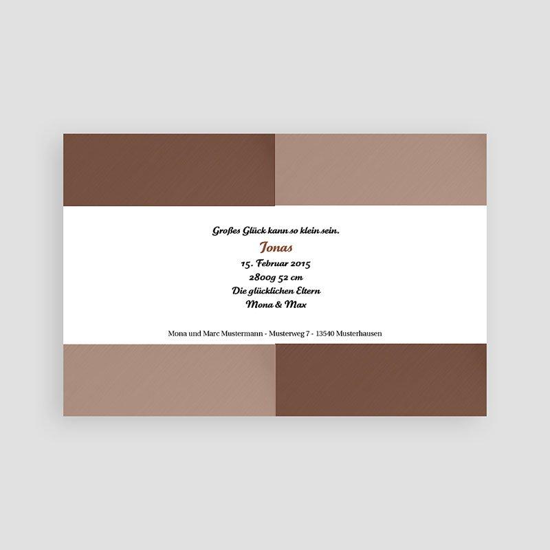 Geburtskarten für Jungen - Pur 16810 thumb