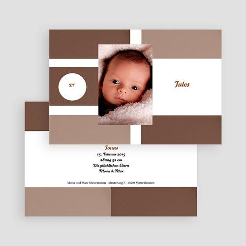 Geburtskarten für Jungen Pur gratuit