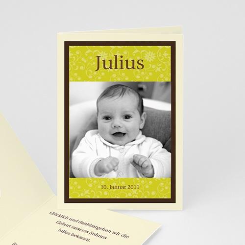 Babykarten für Jungen - Anis braun 16846