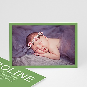 Dankeskarten Geburt Mädchen - Dankeskarte Fynn - 1