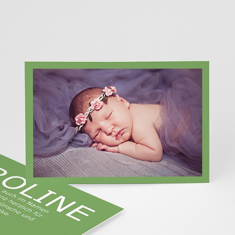 Dankeskarten Geburt für Mädchen Fynn
