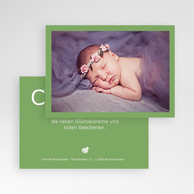 Dankeskarten Geburt für Mädchen Fynn pas cher