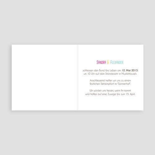 Hochzeitseinladungen modern - Toskana 16920 preview