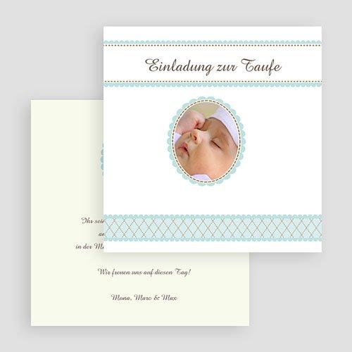 Einladungskarten Taufe Jungen  - Ambroise 16938 test
