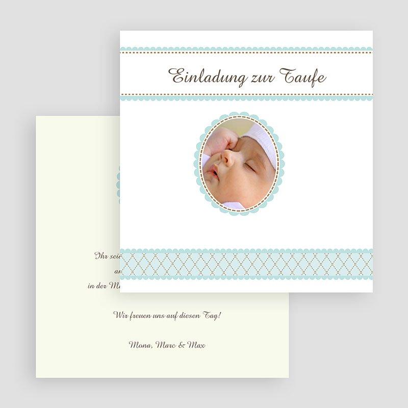 ... Einladungskarten Taufe Jungen   Ambroise 16938 Thumb