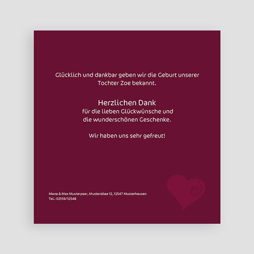 Archivieren - Babykarte Finn 16955 preview
