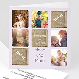 Einladungskarten Hochzeit  Jessica