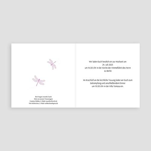 Einladungskarten Hochzeit  - Jessica 17007 test