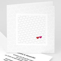 Hochzeitseinladungen modern - Hochzeitskarte Jess - 1
