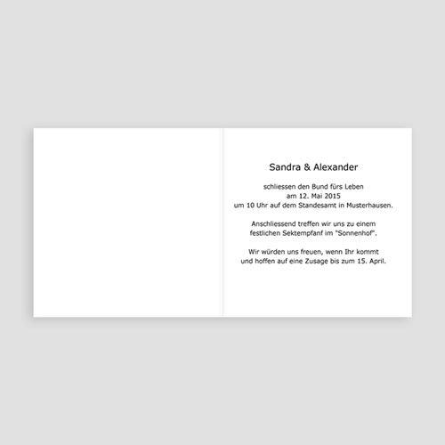 Hochzeitseinladungen modern - Jess 17018 preview