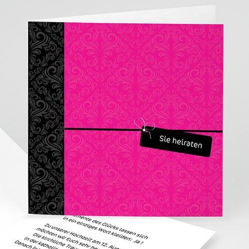 Einladungskarten Hochzeit  - Jens 17026 test