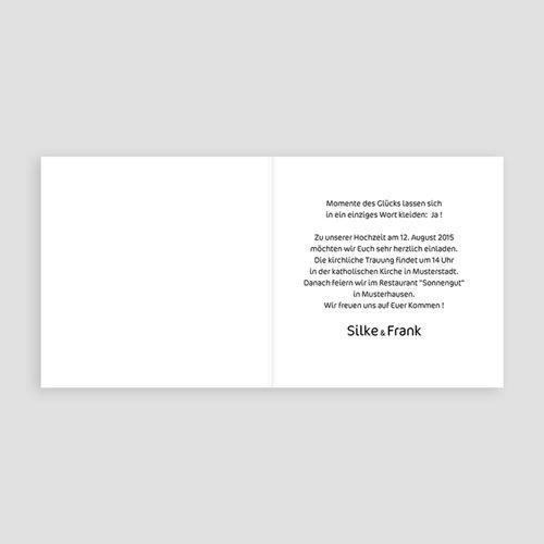 Einladungskarten Hochzeit  - Jens 17027 test