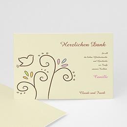 Einladungskarte Taube - 1