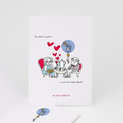 Hochzeit Einladungskarten Geburtstag Tea-Time