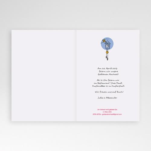 Hochzeit Einladungskarten Geburtstag Tea-Time pas cher