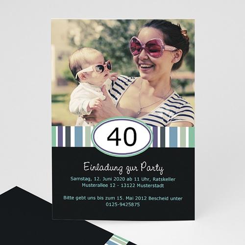 Erwachsener Einladungskarten Geburtstag Wiegenfest