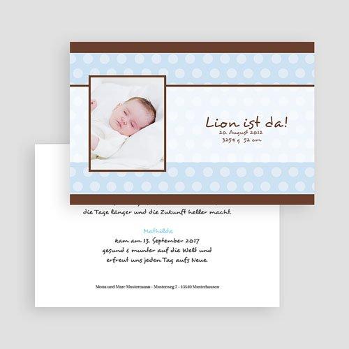 Babykarten für Jungen - Zartes Blau 17612 preview