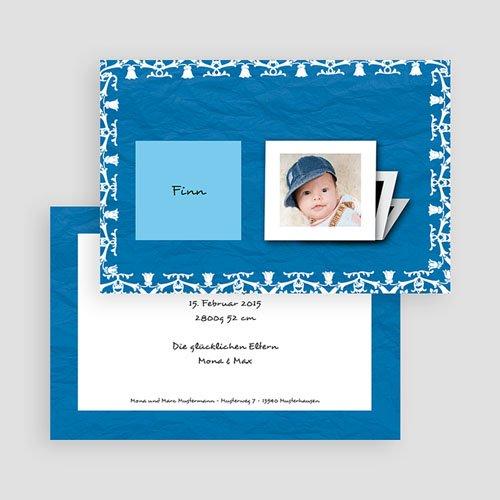 Archivieren - Bleibende Erinnerung in blau 17645 test