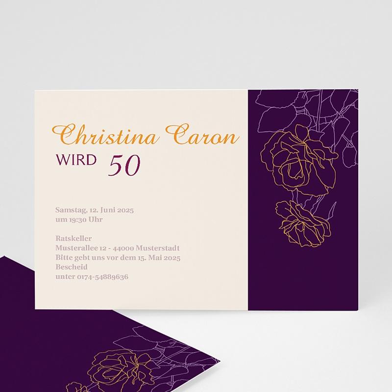 Erwachsener Einladungskarten Geburtstag Jahrestag