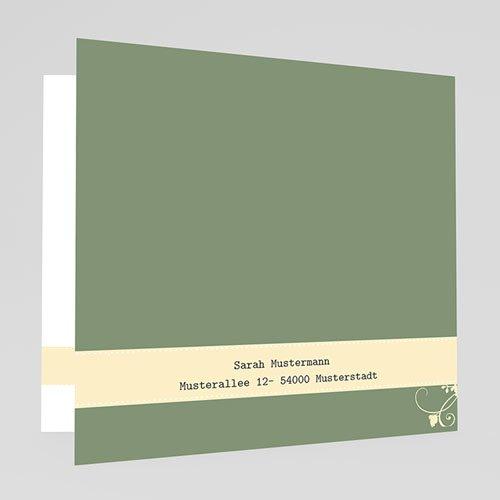 Einladungskarten Konfirmation - Florales Ornament 17717 thumb