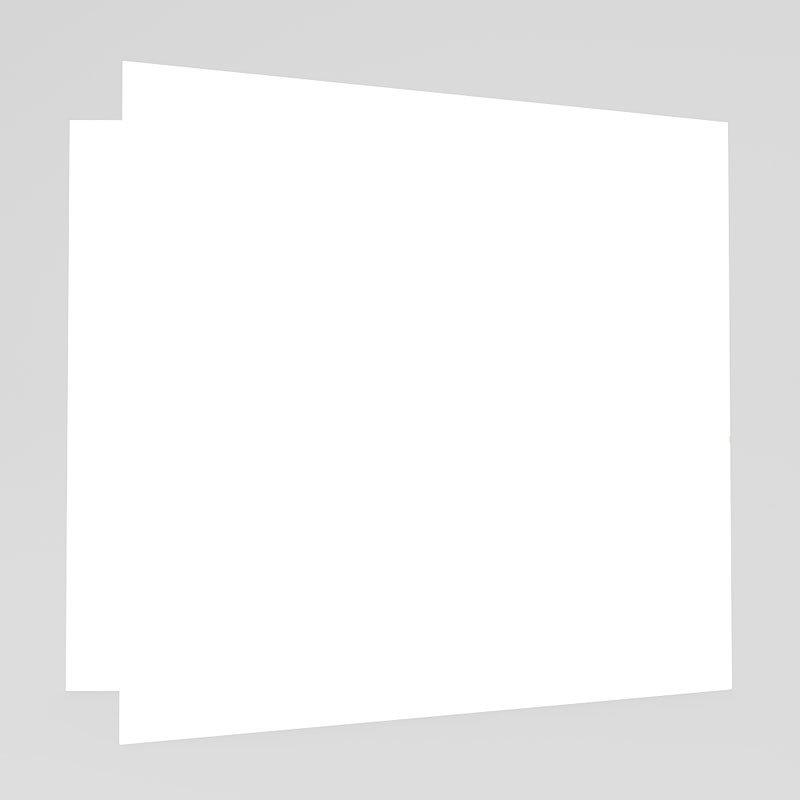 Geburtskarten für Mädchen - Fotorahmen Orange 17740 thumb