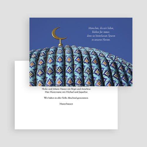 Trauer Danksagung muslimisch - Beileid 17777 test