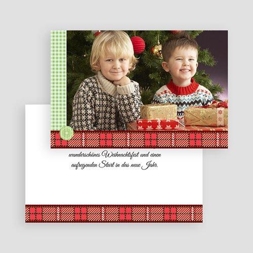 Weihnachtskarten - Weihnachtsherzen 17866 preview