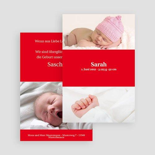 Geburtskarten für Mädchen Melvin gratuit