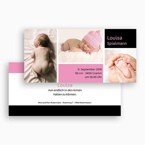 Geburtskarten für Mädchen - Reduziert 18048 test