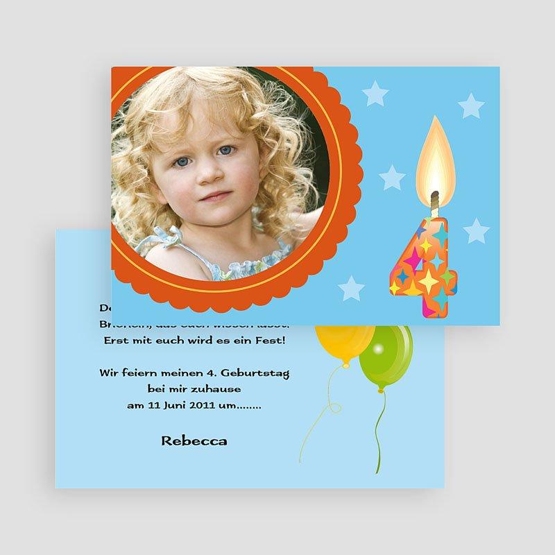 Einladungskarten Geburtstag Jungen Yui gratuit