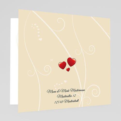 Hochzeitseinladungen modern - Hochzeitsglocken 18191 preview