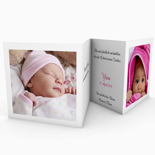 Geburtskarten für Mädchen - Mit Teddybär 18302 test