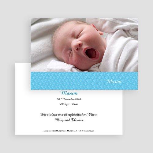 Babykarten für Jungen - Blümchenmuster 18305 preview