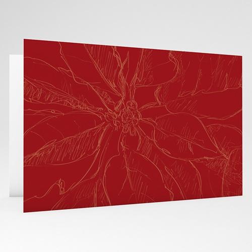 Weihnachtskarten - Weihnachtliches Rot 18347 test