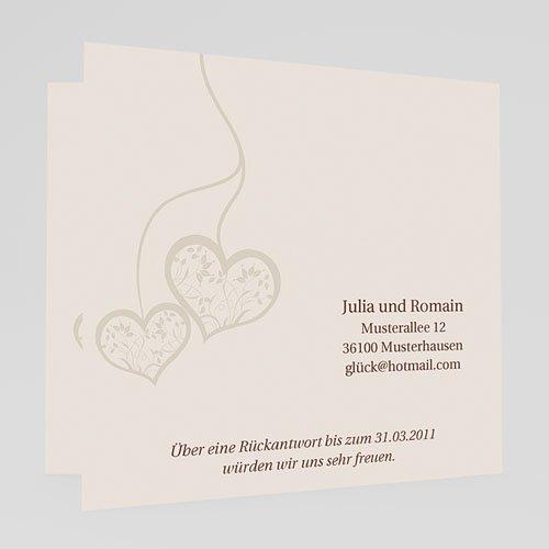 Hochzeitseinladungen modern - Jolanda 18427 preview