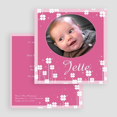 Geburtskarten für Mädchen - Kleine Blume 18465 preview
