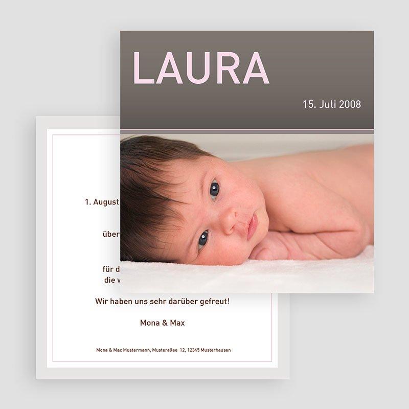 Geburtskarten für Mädchen - Lucie 18473 thumb