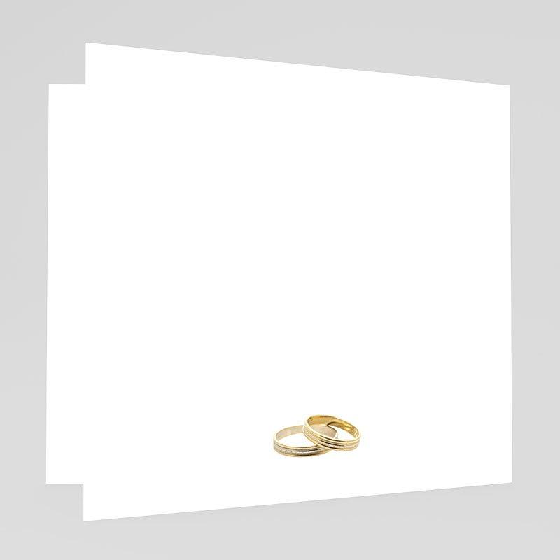 Hochzeitseinladungen mit Foto Konfettiregen gratuit