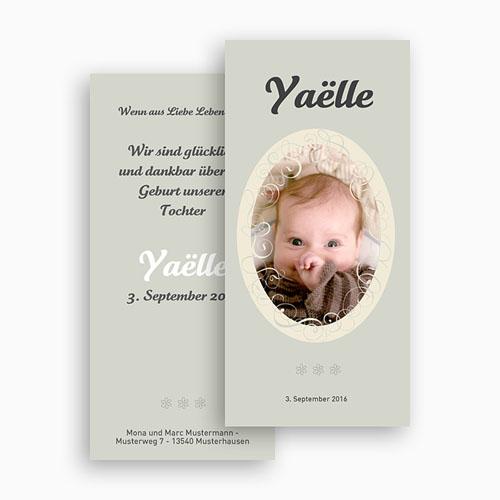 Geburtskarten für Mädchen - Retro Style 18505 preview