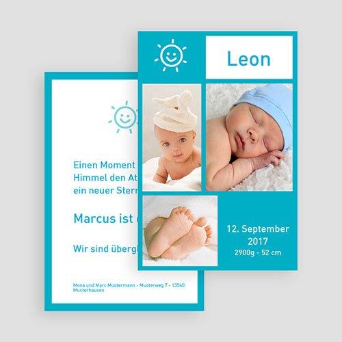 Babykarten für Jungen - Fotoreich Miniatur 18551 preview