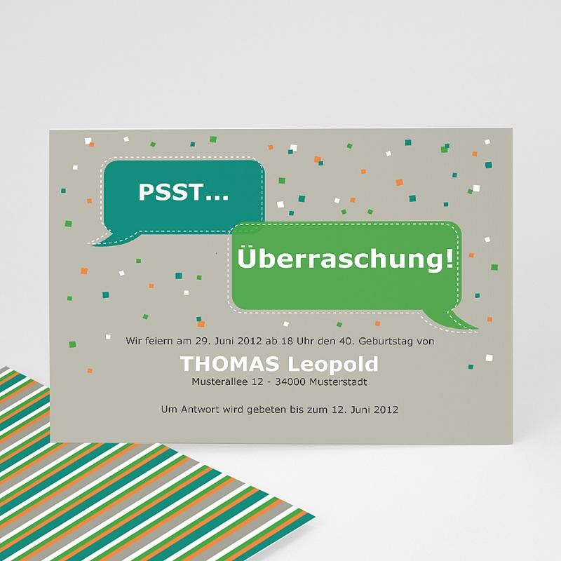 Erwachsener Einladungskarten Geburtstag Stimmung