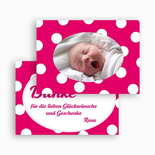Dankeskarten Geburt Mädchen - Lilah 18593 preview