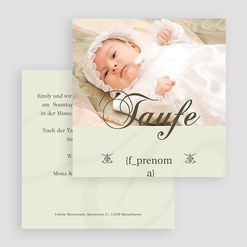 Einladungskarten Taufe Mädchen - Elly 18594 thumb