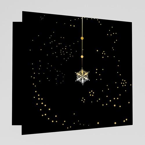 Weihnachtskarten - Weihnachtgrüsse in Gold 18642 test