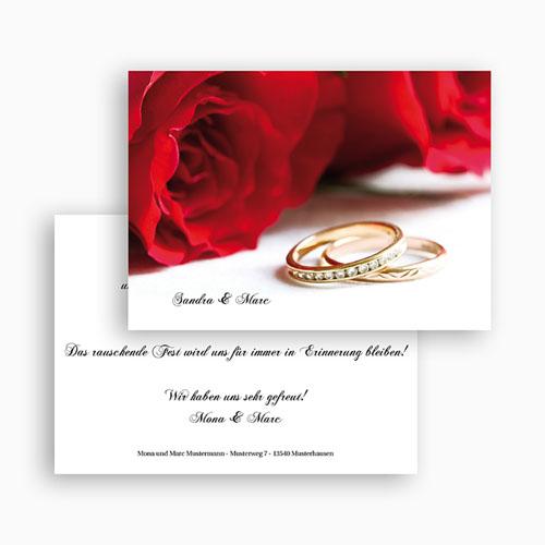 Archivieren - Ehering und rote Rosen 18690 test
