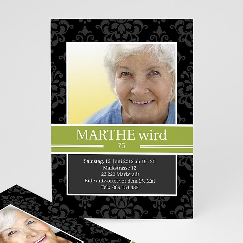 Erwachsener Einladungskarten Geburtstag Marthe