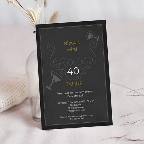 Erwachsener Einladungskarten Geburtstag Birthday